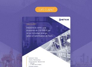 [Cas client] Industrie pharmaceutique : 250 000 € d'économie par an grâce à l'optimisation de fours verriers
