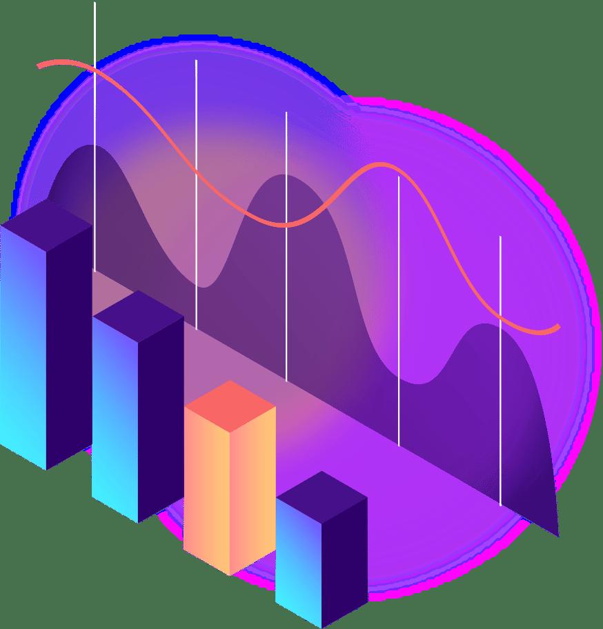 Pictogram 3D KPI METRON Enterprise